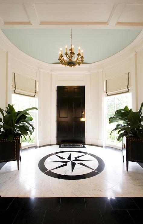 Round Foyer Transitional Entrancefoyer Margaux