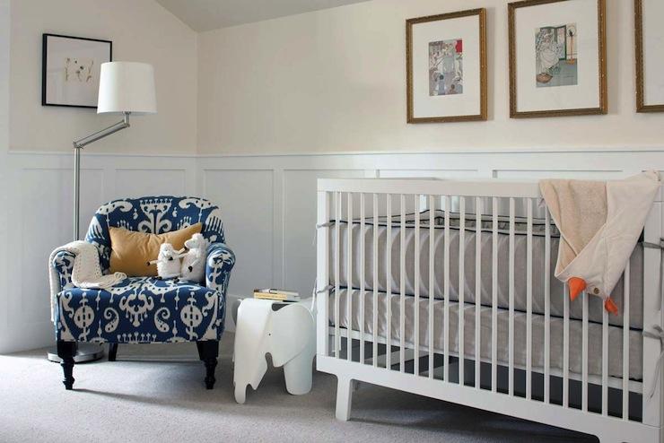 Baby Girl Nursery Pink Wallpaper Nursery Wainscoting Contemporary Nursery Kelly Deck
