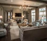 French Doors with Transom Windows - Transitional - living ...