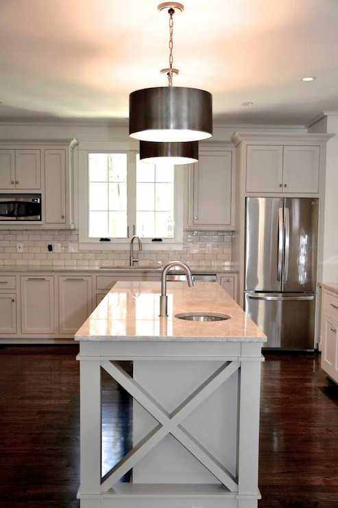 Mother of Pearl Quartzite  Contemporary  kitchen