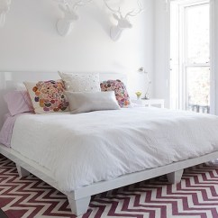West Elm Living Rooms Room Curtain Panels Purple Chevron Rug - Contemporary Bedroom The Brooklyn ...