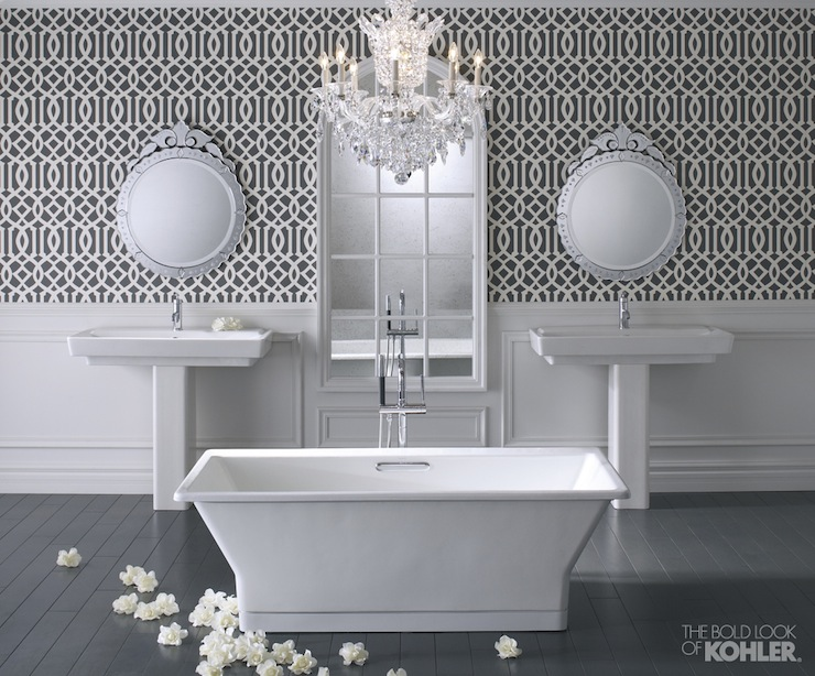 Kohler Reve Freestanding Bath Contemporary Bathroom