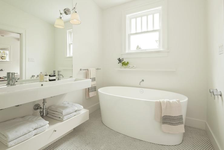 Oval Bathtub  Contemporary  bathroom  Sophie Burke Design