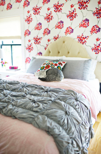 Anthropologie Rosette Quilt