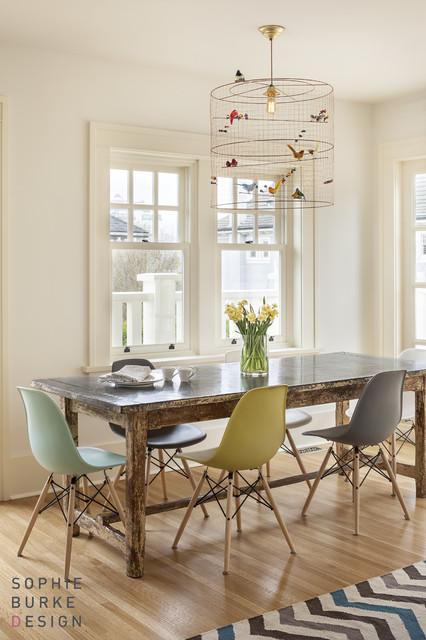 La Petite Voliere Pendant  Contemporary  dining room