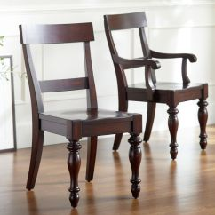 British Colonial Chair Glass And Wood Dining Table Chairs Style Look 4 Less Steals Deals View Full Size