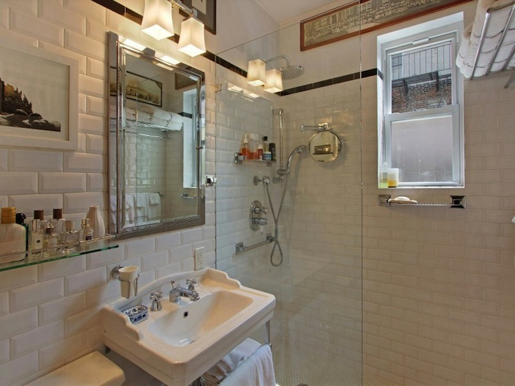 Restoration Hardware Bathroom Vanity  Transitional