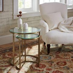 Sofa Tables Pinterest Bed Cb2 Monroe Glass Top Brass Nesting Side Table