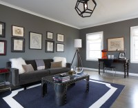 Gray Den - Contemporary - living room - Artistic Designs ...
