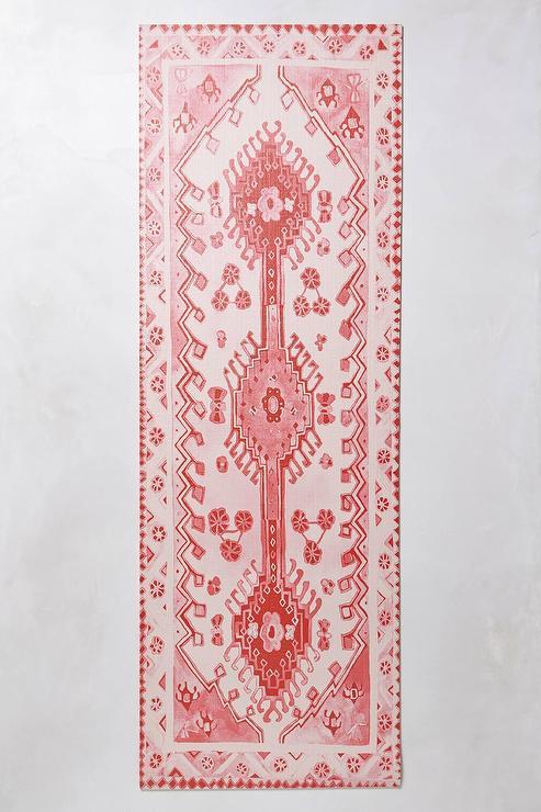 Magic Carpet Pink Pattern Yoga Mat