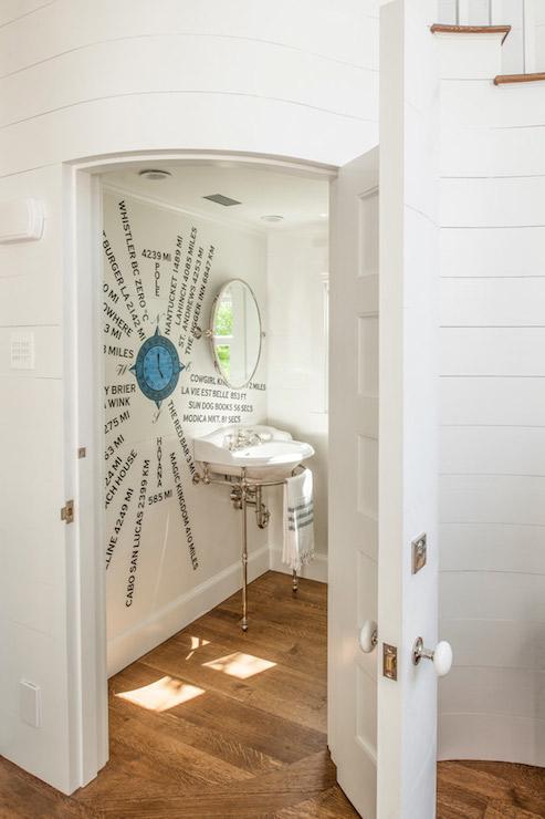Hidden Bathroom  Eclectic  bathroom  Curtis and Windham