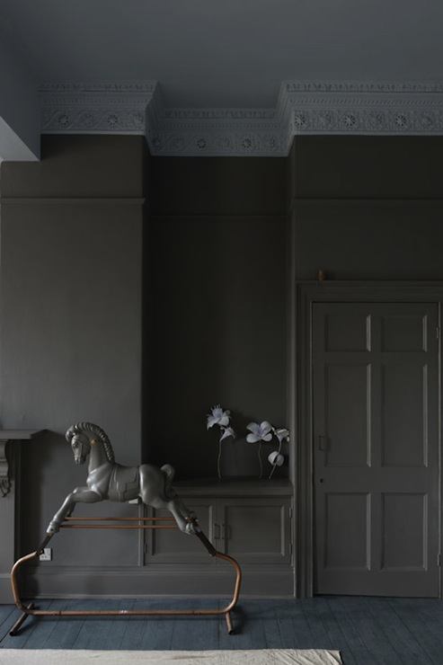 Gray Paint Colors Eclectic Living Room Farrow And Ball Moles Breath Farrow And Ball