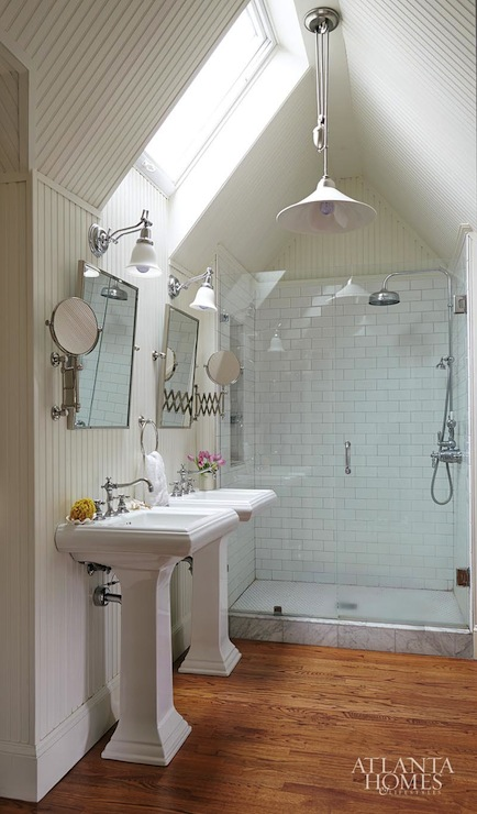 Beadboard Vaulted Ceiling Design Ideas