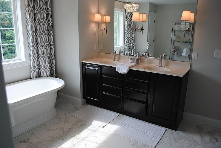 His and Her Bath Mats  Contemporary  bathroom  Karen