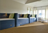 Blue Twin Beds - Transitional - boy's room - Munger Interiors