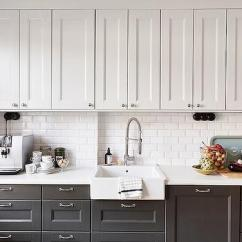Repainting Kitchen Cabinets Disposal White Upper Design Ideas