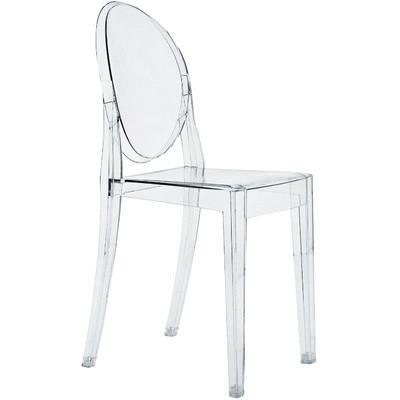 Kartell Victoria Acrylic Ghost Chair