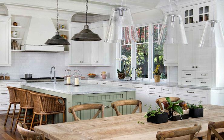 Farmhouse Kitchen  Cottage  kitchen  Markay Johnson