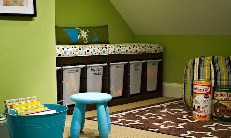 Toy Storage Ideas Contemporary Boy S Room Traci