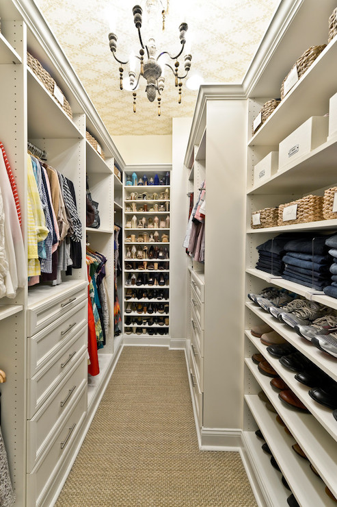 Closet Ideas  Transitional  closet  Organized Living