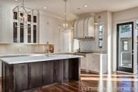 2 Tone Kitchen - Transitional - kitchen - Veranda Interiors