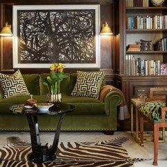Rolled Arm Sofa With Nailhead Trim Cat Urine On Leather Paneled Den - Transitional Den/library/office Anne ...