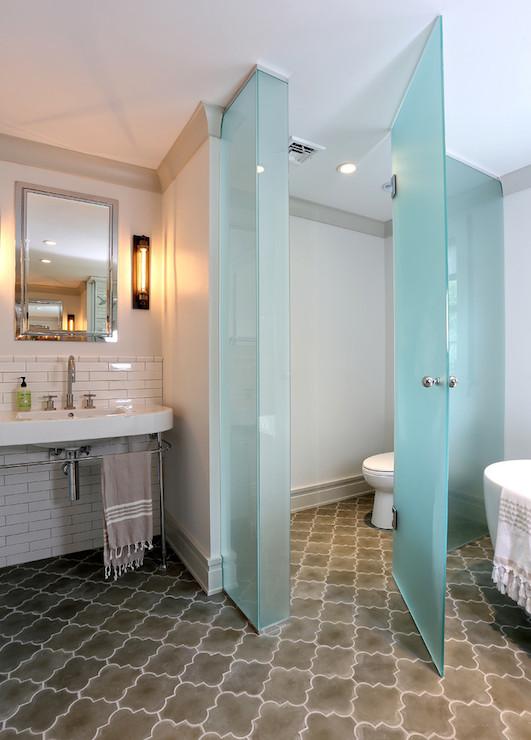 Water Closet Ideas  Contemporary  bathroom  DeRosa Builders