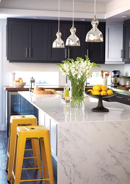 stainless steel kitchen pendant light farm sinks jamie young st charles mercury glass design ideas