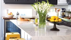 Yellow Bar Stools Contemporary Kitchen Chatelaine