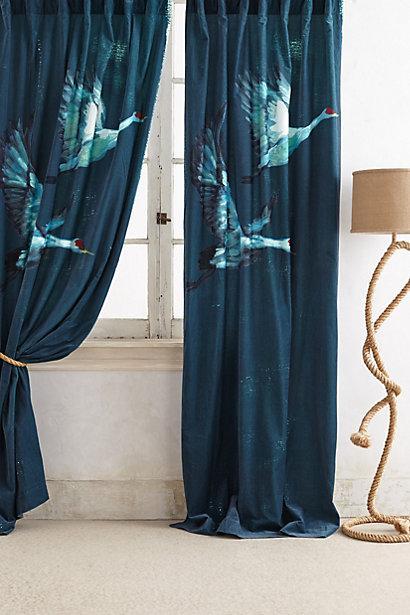 bedroom chair design trakker accessories avian blue swans flight curtain