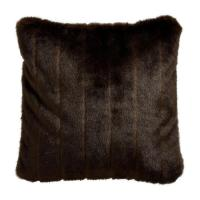 Ivory Faux Fur Square Pillow