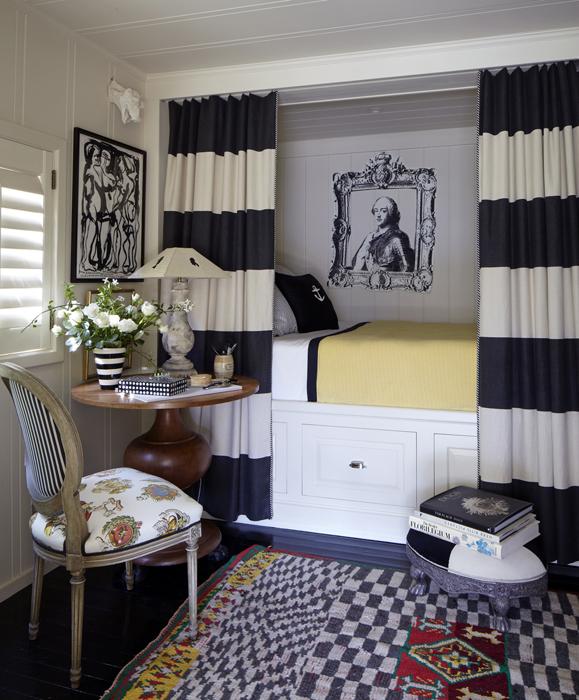Horizontal Striped Curtains Design Ideas
