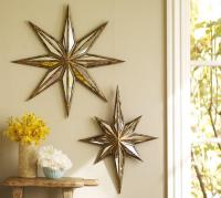 Decorative Wall Antique Star Mirror