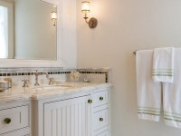 Cabinets with Beadboard Trim - Traditional - bathroom ...