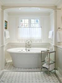 Bathtub Alcove - Transitional - bathroom - Courtney Hill ...