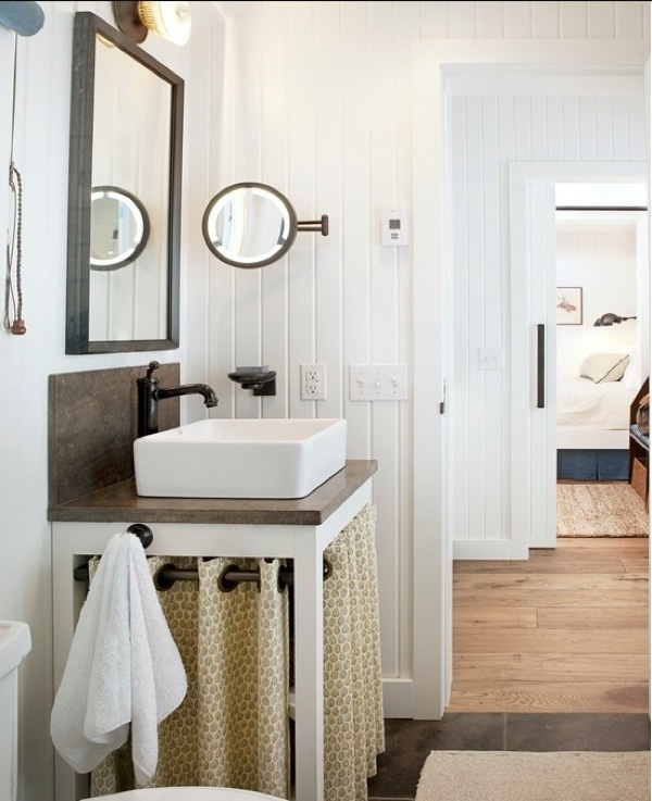 farmhouse bathroom - country - bathroom - lauren leonard interiors