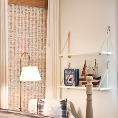 White Slipcovered Chair Rei Beach Kids Corner Hanging Design Ideas