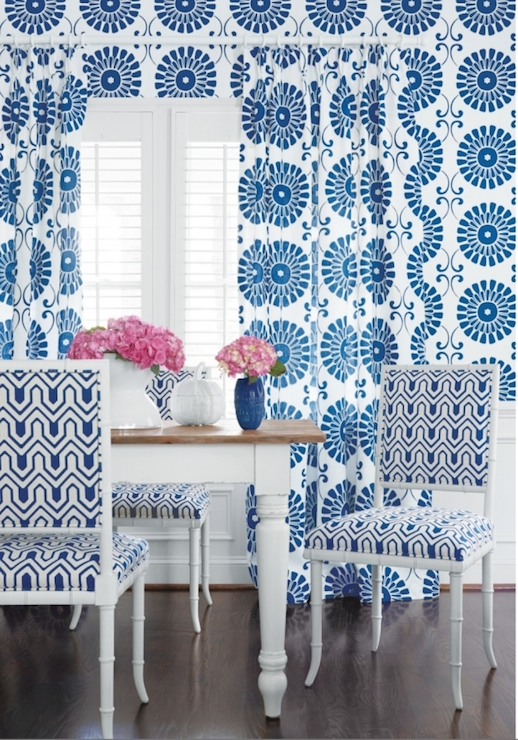 Thibaut Wallpaper  Contemporary  dining room  Thibaut