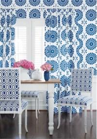 Thibaut Designs Geometric Etosha Wallpaper Grey Design Ideas