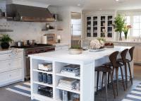 Island Bookcase - Cottage - kitchen - Sage Design