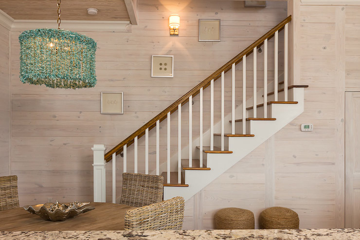 Plank Ceiling Cottage Bedroom Pat ONeal Interiors