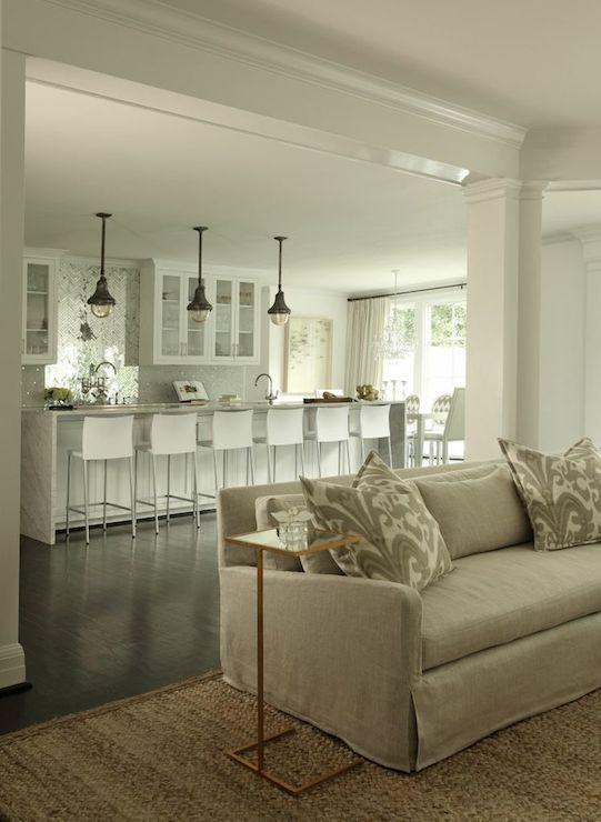 Open Concept Floor Plan  Contemporary  kitchen  Womanista