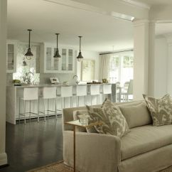 Gray Living Room Sets Pictures Decorating Ideas Open Concept Floor Plan - Contemporary Kitchen Womanista