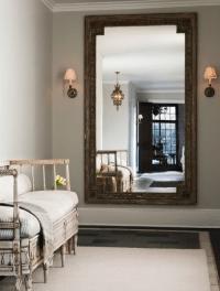 Foyer Wall Mirror - French - entrance/foyer - Sage Design