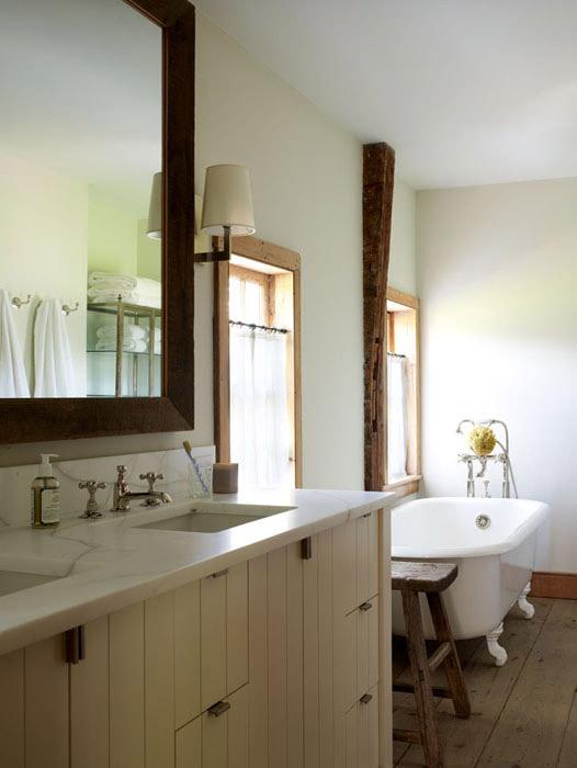 Farmhouse Bathroom Country Bathroom Oak Hill Architects