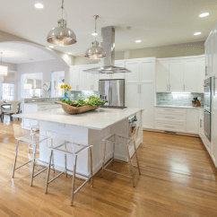 Painted Gray Kitchen Cabinets Flooring For Acrylic Counter Stools - Contemporary Lucy And ...