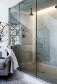 Double Shower Heads - Transitional - bathroom - Sage Design