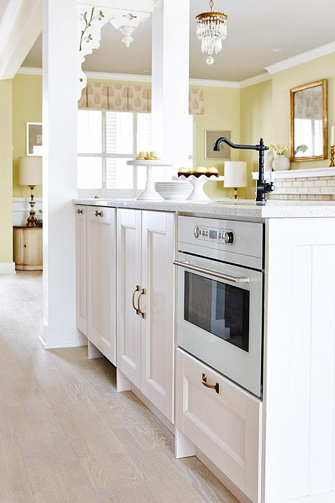 ikea kitchen sink accessories tables and chairs island oven - transitional farrow ball ...