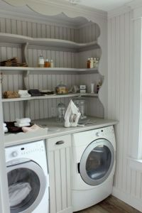 Laundry Room Shelving - Cottage - laundry room - Talk of ...