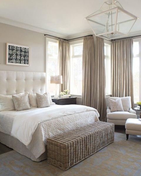 ivory and beige bedroom Ivory and Beige Bedroom - Transitional - bedroom - Wayne Windham Architect